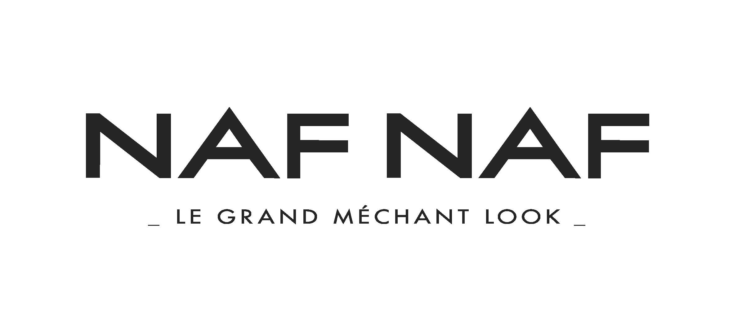 le logo de naf naf le grand méchant look